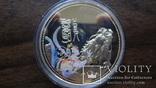 10  долларов 2000 Сомали Дракон серебро, фото №2