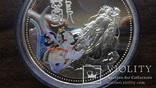 10  долларов 2000 Сомали Дракон серебро, фото №3