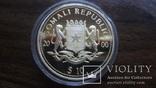 10  долларов 2000 Сомали Дракон серебро, фото №5