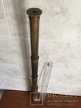 Большая старинная зрительная труба, фото №3