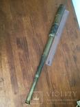 Большая старинная зрительная труба, фото №11
