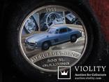 1  доллар  2006  Тувалу  Мерседес   серебро унция 999 ~, фото №3