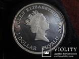 1  доллар  2006  Тувалу  Мерседес   серебро унция 999 ~, фото №5