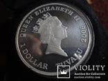 1  доллар  2006  Тувалу  Мерседес   серебро унция 999 ~, фото №6