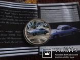 1  доллар  2006  Тувалу  Мерседес   серебро унция 999 ~, фото №7