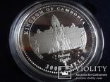 3000 риелс 2007  Камбоджа  1 унция серебро 999 ~, фото №4