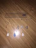 10  серебряных украшений, фото №2