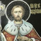 Современная Икона Святой князь Александр Невский, фото №2