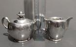 Чайный Сервиз серебро, фото №11