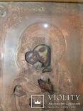 Икона Владимирская Богородица в окладе, фото №5