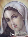 """Богородица"" икона на холсте., фото №4"