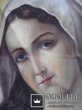 """Богородица"" икона на холсте., фото №5"