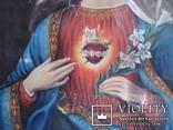 """Богородица"" икона на холсте., фото №6"