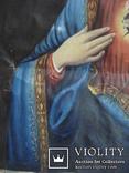 """Богородица"" икона на холсте., фото №7"