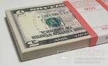 Купюры Боны 5$ 10 штук (50$) доллары США 2017 год код 4, фото №12