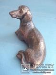 Статуэтка собаки, серебро., фото №3