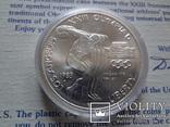 1 доллар 1983  D  США серебро, фото №2