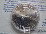 1 доллар 1983  D  США серебро, фото №4