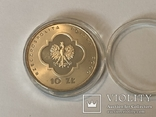 Польша Roku 2000 wielki jubileusz 10 злотих Polska, фото №3