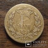 1 скиллинг 1860 Дания   (Л.8.15)~, фото №2