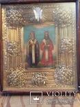 Икона Св. Кирилл и Св. Афанасий, фото №2