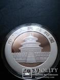 Панда Китай 10 юаней 2020 г. унция серебро 999 пробы , 30 гр., фото №3