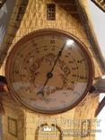 Винтажный барометр мельница, фото №3