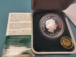 Унция серебро гольф 1 доллар Австралия, фото №3