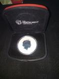 Медаль серебро 999, фото №2