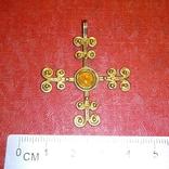 Реплика- копия Крест Византия, фото №2