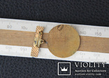 Значок 2-й разряд ,спорт, баскетбол или теннис Болгария,бронза,эмаль, фото №3