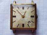 """Часы""""SLAVA"""",21 jewels,Au20., фото №2"""