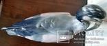Статуетка Чапля, Karl Ens,  Н40,5х31х12 см, фото №8