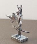Срібна фігурка, 800пр. Італія., фото №8