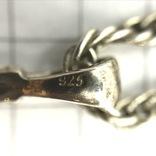 Подвес серебро на цепочке, фото №8