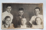 """Фотография """"Практиканты"""" (1954 год перегон Рудня-Почаевская-Заблотце) 13.5*8.5, фото №3"""