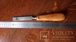 Стамеска 16 мм ореховый ручка, фото №4