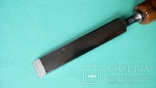 Стамеска 16 мм ореховый ручка, фото №5