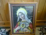 Старая картина икона, фото №2