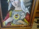 Старая картина икона, фото №4