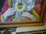 Старая картина икона, фото №5