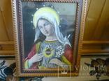 Старая картина икона, фото №7