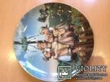 """Коллекционная тарелка """" Хоровод"""" / номер, клеймо/., фото №7"""