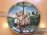 """Коллекционная тарелка """" Хоровод"""" / номер, клеймо/., фото №10"""