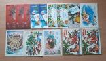 Новогодние открытки. Чистые, фото №2