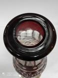 Большая хрустальная ваза в серебре, фото №3