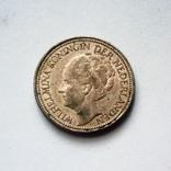 Нидерланды 25 центов 1928 г., фото №3