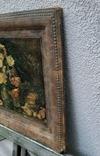 """""""Цветы и фрукты""""х-к И.Т.Хруцкий,репродукция 1979 год, фото №9"""