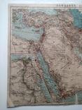 Западная Азия 1905 (карта 51 х 39, русский язык), фото №3