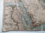 Западная Азия 1905 (карта 51 х 39, русский язык), фото №7